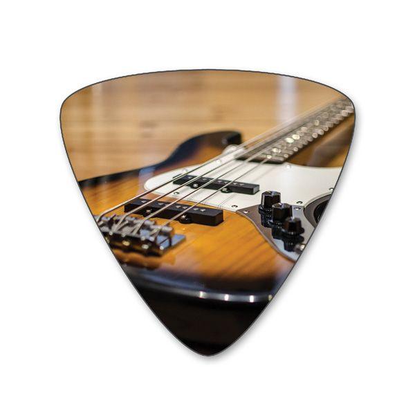 Plektren Bedrucken - Bass Einseitig