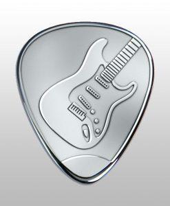 plektrum mit gitarre