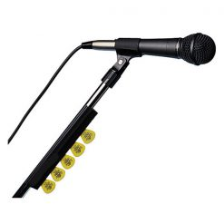 Mic stand - plektren holder