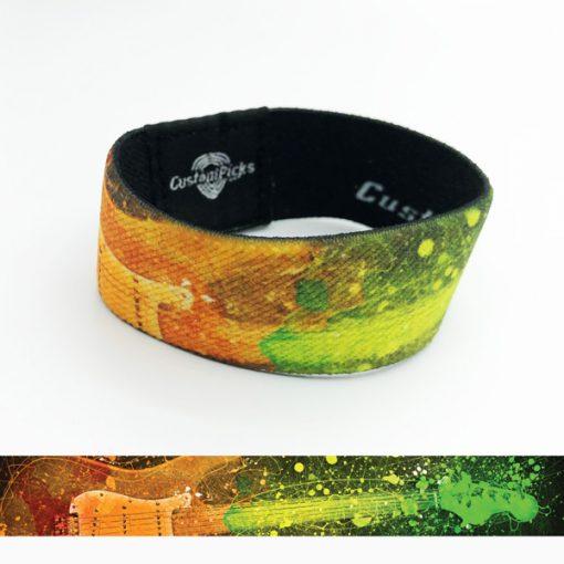 Gitarren Armbänder - Gitarrenregenbogen