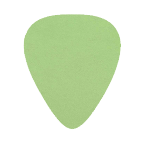 Delrin Gitarren Picks - Grün