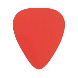 Nylon Gitarren Picks - Rot