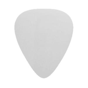 Nylon Gitarren Picks - Weiß