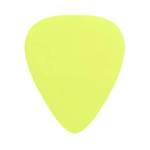 Nylon Gitarren Picks - Gelb
