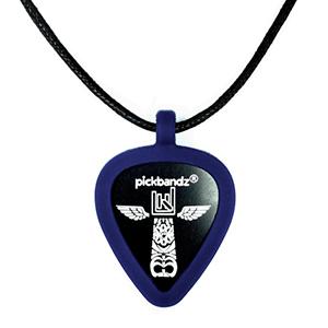 Plektrum Kette - PickBandz Blau