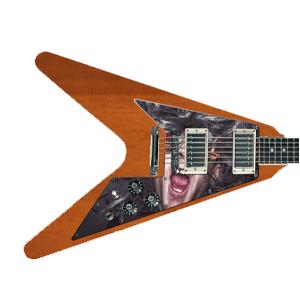 Gitarre Schlagbrett - Flying V