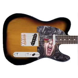 Gitarre Schlagbrett - Tele
