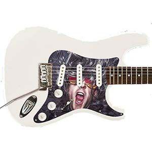 Gitarre Schlagbrett - Strat